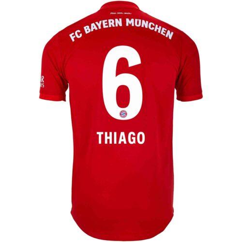 2019/20 adidas Thiago Bayern Munich Home Authentic Jersey