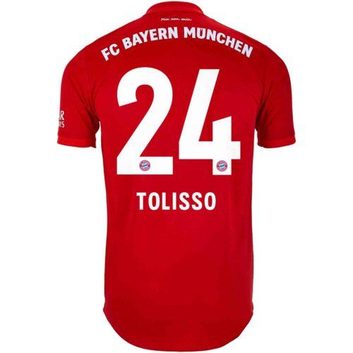 2019/20 adidas Corentin Tolisso Bayern Munich Home Authentic Jersey