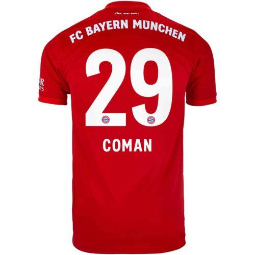 2019/20 Kids adidas Kingsley Coman Bayern Munich Home Jersey