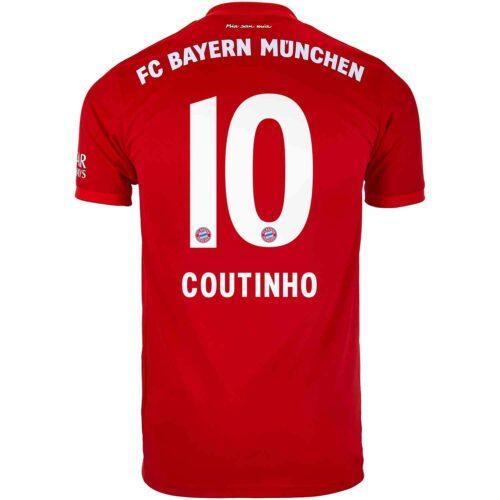 2019/20 Kids adidas Philippe Coutinho Bayern Munich Home Jersey