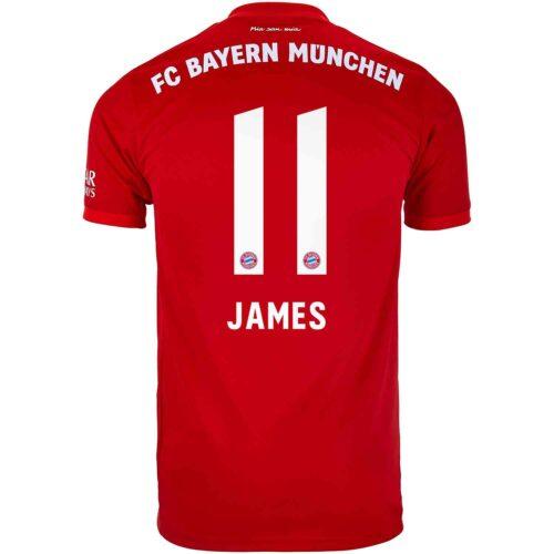 2019/20 Kids adidas James Rodriguez Bayern Munich Home Jersey