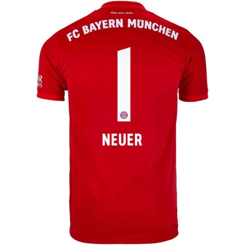 2019/20 Kids adidas Manuel Neuer Bayern Munich Home Jersey