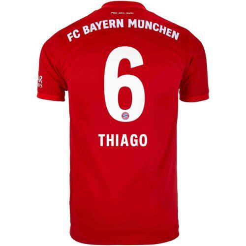 2019/20 Kids adidas Thiago Bayern Munich Home Jersey