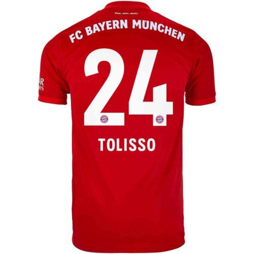2019/20 Kids adidas Corentin Tolisso Bayern Munich Home Jersey