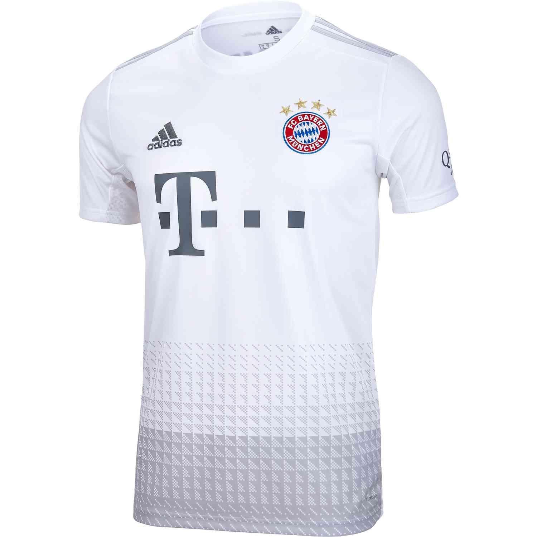 newest a7da8 6bcc3 2019/20 Kids adidas Bayern Munich Away Jersey - SoccerPro
