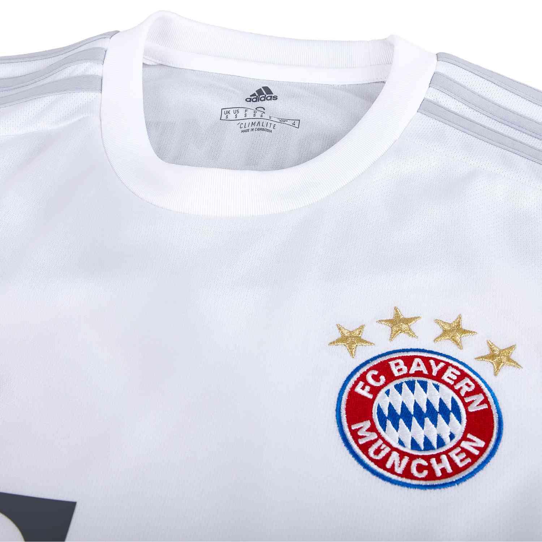 hot sale online cc44c cc5bb Kids adidas Bayern Munich Away Jersey - 2019/20 - SoccerPro