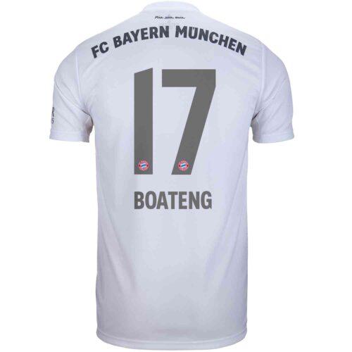 2019/20 Kids adidas Jerome Boateng Bayern Munich Away Jersey