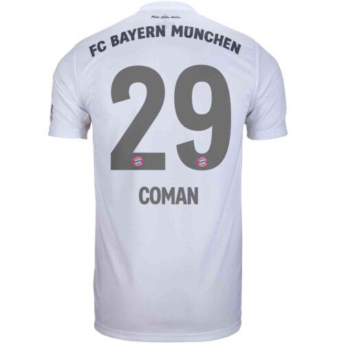 2019/20 Kids adidas Kingsley Coman Bayern Munich Away Jersey