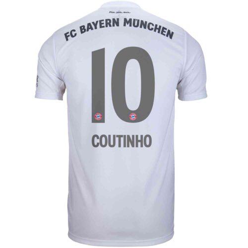 2019/20 Kids adidas Philippe Coutinho Bayern Munich Away Jersey