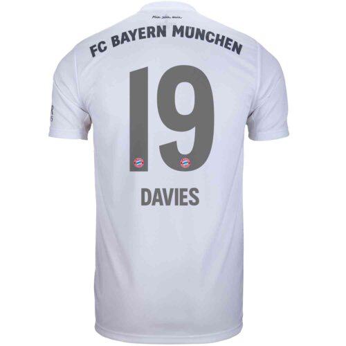 2019/20 Kids adidas Alphonso Davies Bayern Munich Away Jersey