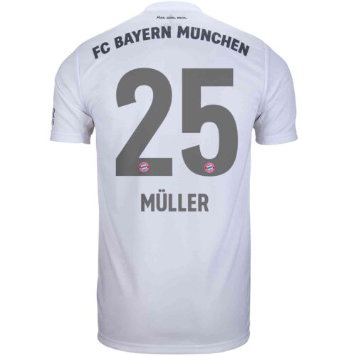 2019/20 Kids adidas Thomas Muller Bayern Munich Away Jersey