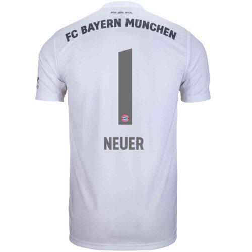 2019/20 Kids adidas Manuel Neuer Bayern Munich Away Jersey