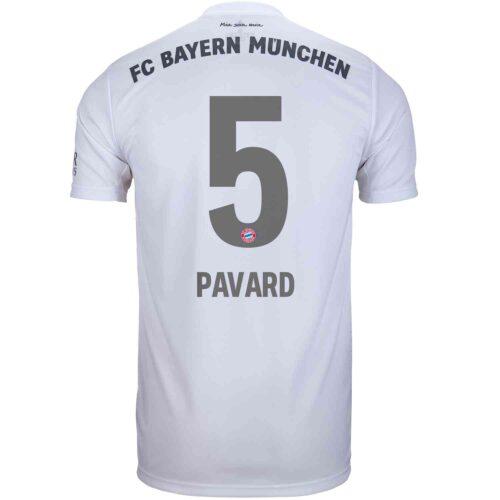 2019/20 Kids adidas Benjamin Pavard Bayern Munich Away Jersey