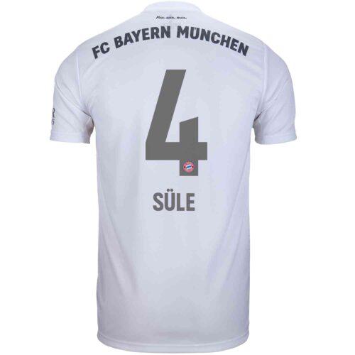 2019/20 Kids adidas Niklas Sule Bayern Munich Away Jersey