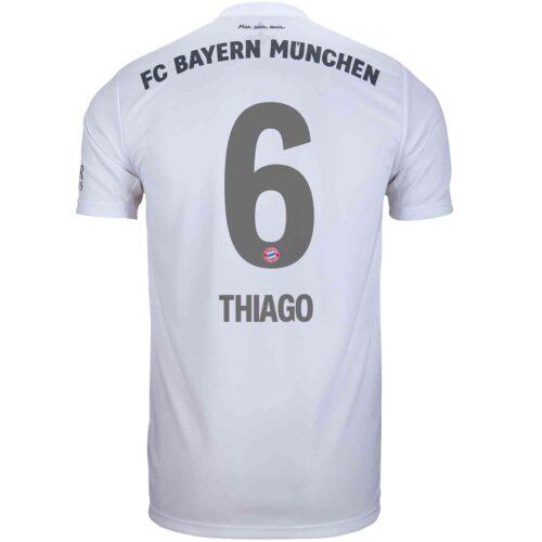 2019/20 Kids adidas Thiago Bayern Munich Away Jersey