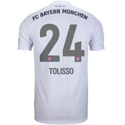 2019/20 Kids adidas Corentin Tolisso Bayern Munich Away Jersey