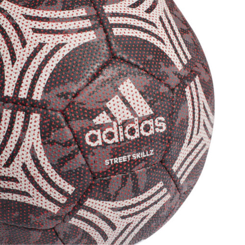 adidas Tango Skillz Futsal Ball – Carbon & Black with Semi Solar Red
