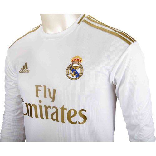 2019/20 adidas Isco Real Madrid Home L/S Jersey
