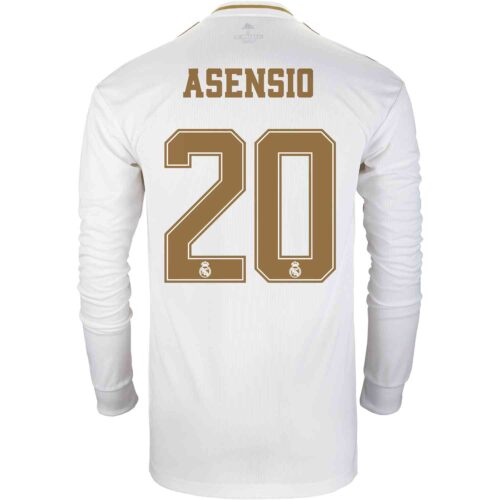 2019/20 adidas Marco Asensio Real Madrid Home L/S Jersey