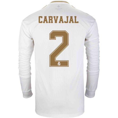 2019/20 adidas Dani Carvajal Real Madrid Home L/S Jersey