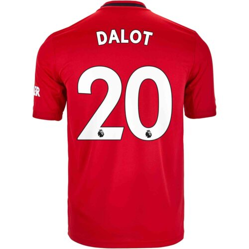 2019/20 adidas Diogo Dalot Manchester United Home Jersey