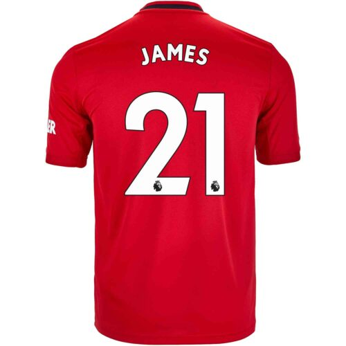 2019/20 adidas Daniel James Manchester United Home Jersey