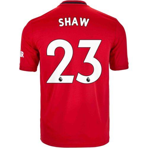 2019/20 adidas Luke Shaw Manchester United Home Jersey
