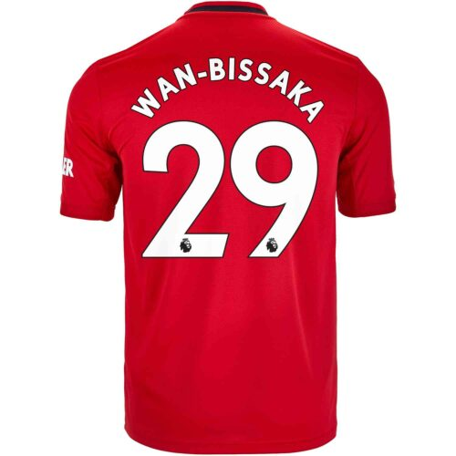 2019/20 adidas Aaron Wan-Bissaka Manchester United Home Jersey