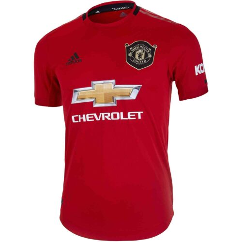 970cd828e 2019 20 adidas Manchester United Home Authentic Jersey