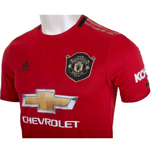 2019/20 adidas Manchester United Home Authentic Jersey