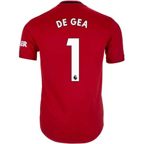 2019/20 adidas David de Gea Manchester United Home Authentic Jersey