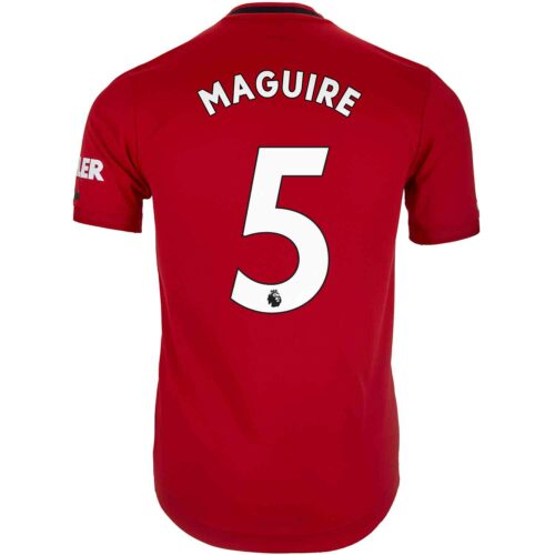 2019/20 adidas Harry Maguire Manchester United Home Authentic Jersey