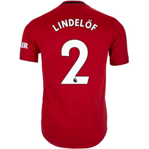 2019/20 adidas Victor Lindelof Manchester United Home Authentic Jersey