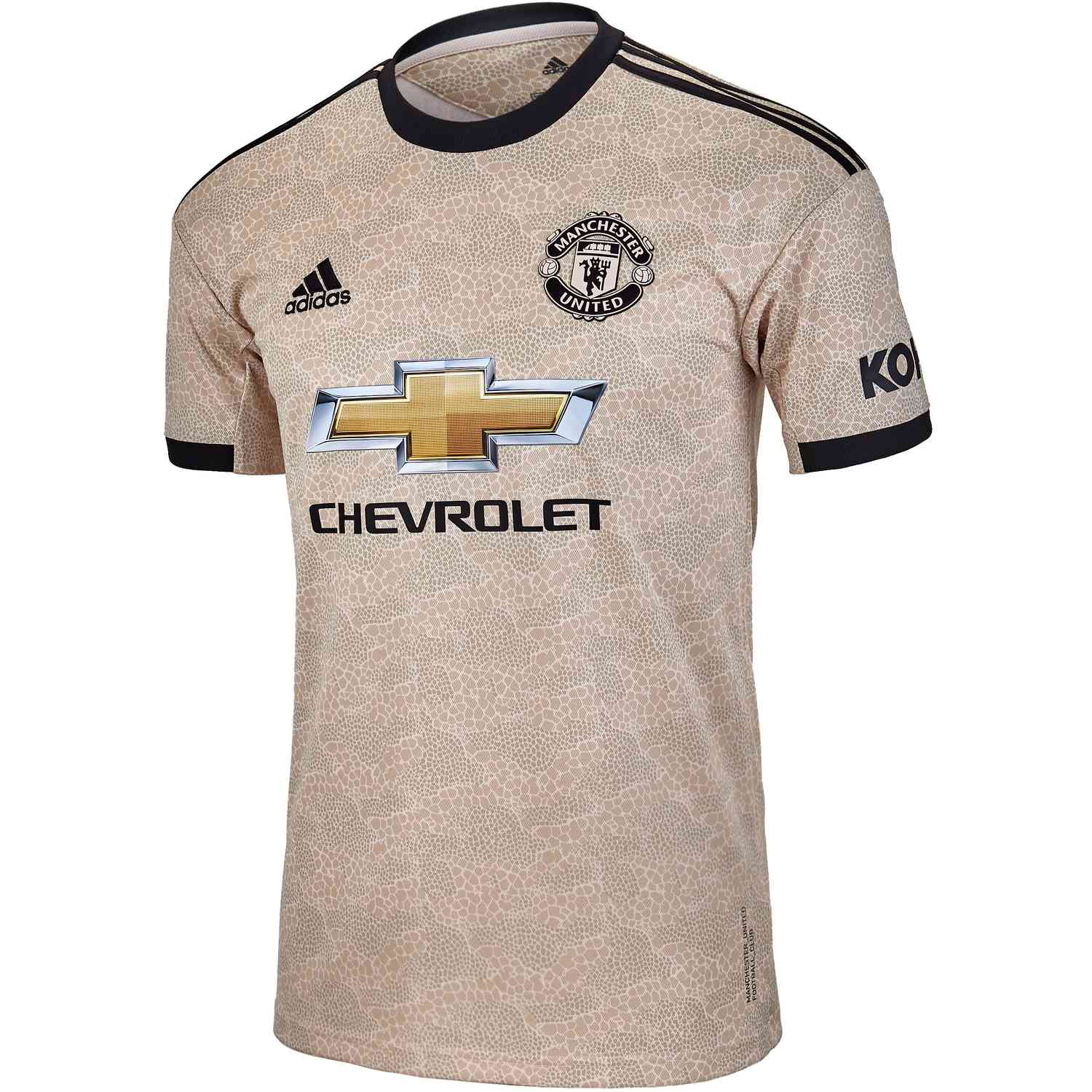 adidas Official Mens Manchester United Home Authentic Football Shirt 2019-20
