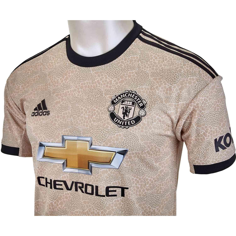 Adidas Manchester United Away Jersey 2019 20 Soccerpro