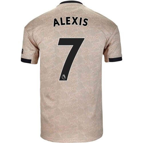 2019/20 adidas Alexis Sanchez Manchester United Away Jersey
