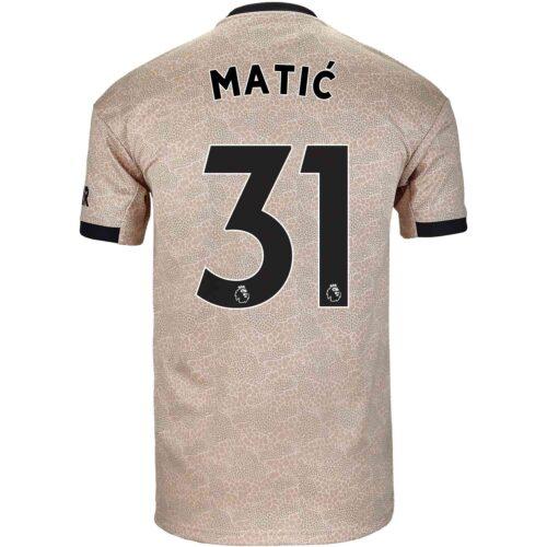 2019/20 adidas Nemanja Matic Manchester United Away Jersey
