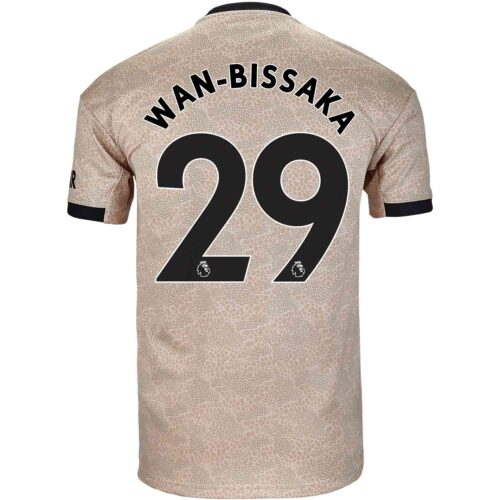 2019/20 adidas Aaron Wan-Bissaka Manchester United Away Jersey