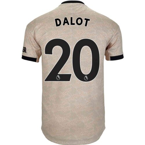 2019/20 adidas Diogo Dalot Manchester United Away Authentic Jersey