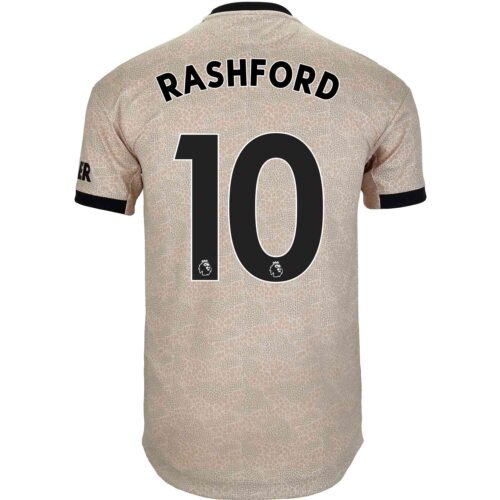 2019/20 adidas Marcus Rashford Manchester United Away Authentic Jersey