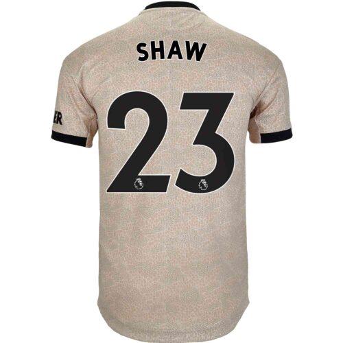 2019/20 adidas Luke Shaw Manchester United Away Authentic Jersey