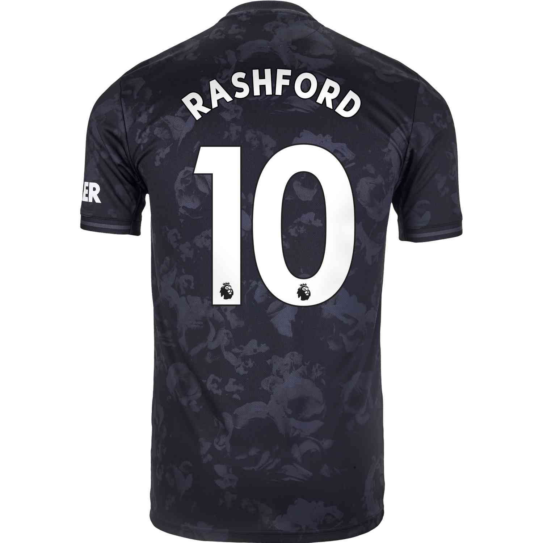 2019/20 adidas Marcus Rashford Manchester United 3rd Jersey - SoccerPro