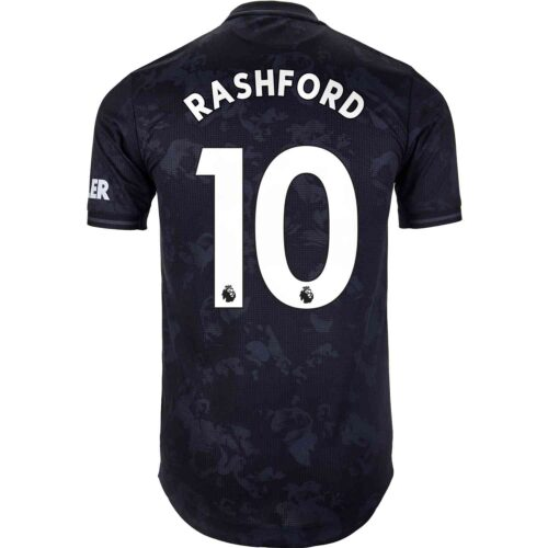 2019/20 adidas Marcus Rashford Manchester United 3rd Authentic Jersey