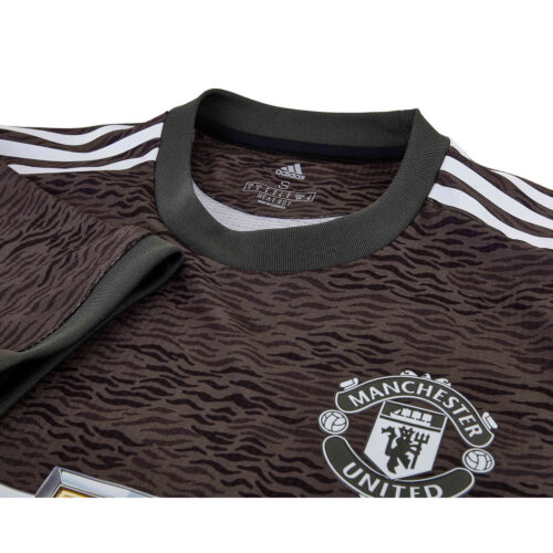2020/21 adidas Paul Pogba Manchester United Away Authentic Jersey