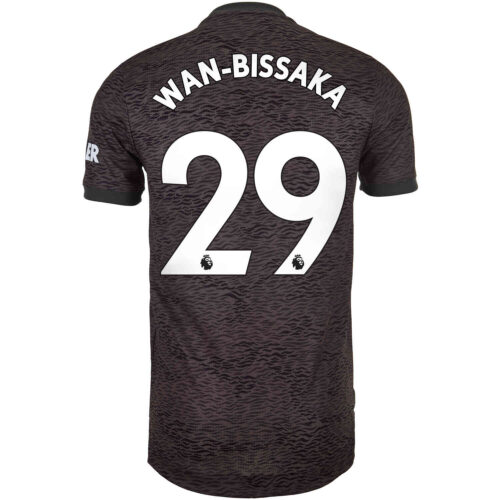 2020/21 adidas Aaron Wan-Bissaka Manchester United Away Authentic Jersey