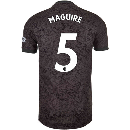 2020/21 adidas Harry Maguire Manchester United Away Authentic Jersey