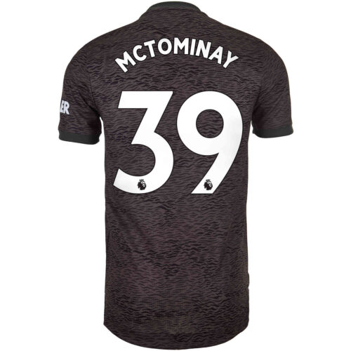 2020/21 adidas Scott McTominay Manchester United Away Authentic Jersey
