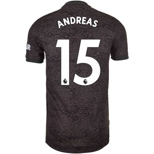 2020/21 adidas Andreas Pereira Manchester United Away Authentic Jersey