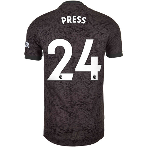 2020/21 adidas Christen Press Manchester United Away Authentic Jersey