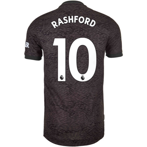 2020/21 adidas Marcus Rashford Manchester United Away Authentic Jersey